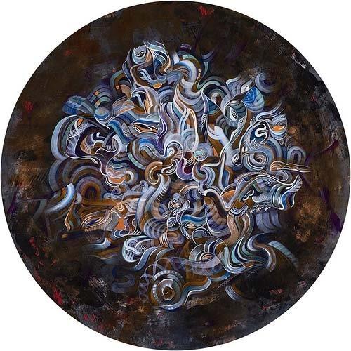 Точка, точка, запятая: 10 современных абстракционистов. Изображение № 58.