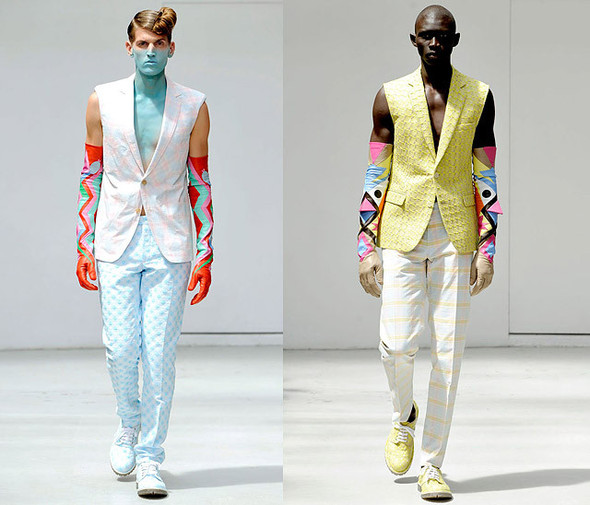 CLOUD #9 by Walter Van Beirendonck Summer 2012. Изображение № 2.