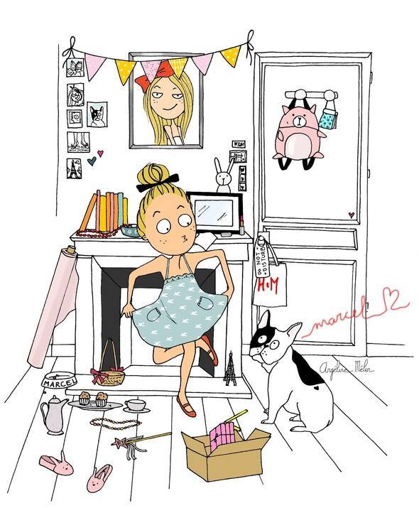 Angéline Melin Фешн-иллюстратор. Изображение № 8.