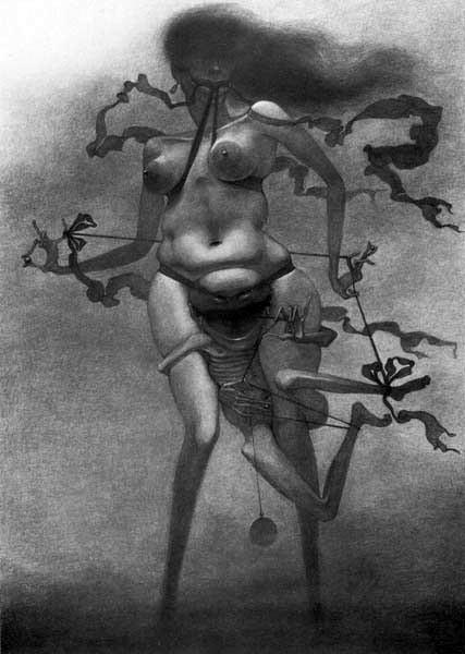 Архив работ Ждислава Бексински. Изображение № 22.