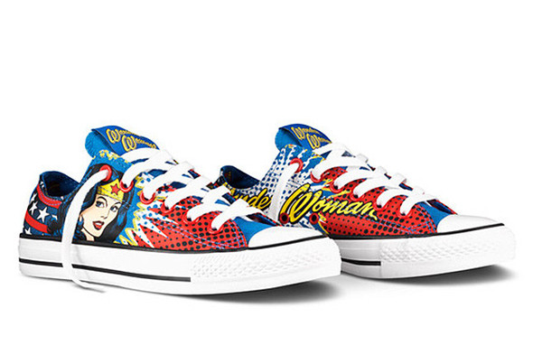 DC COMICS X CHUCK TAYLOR (WONDER WOMAN). Изображение № 1.