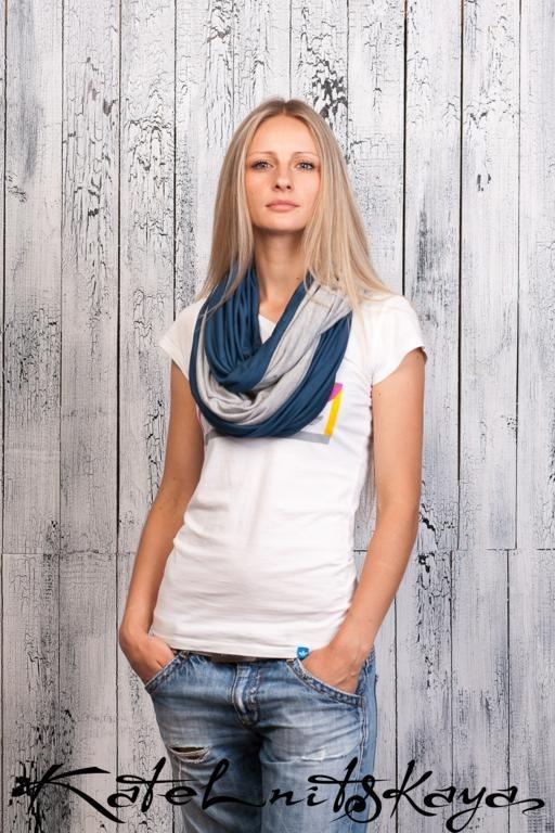 Осенняя коллекция ярких шарфов-снудов. Изображение № 13.