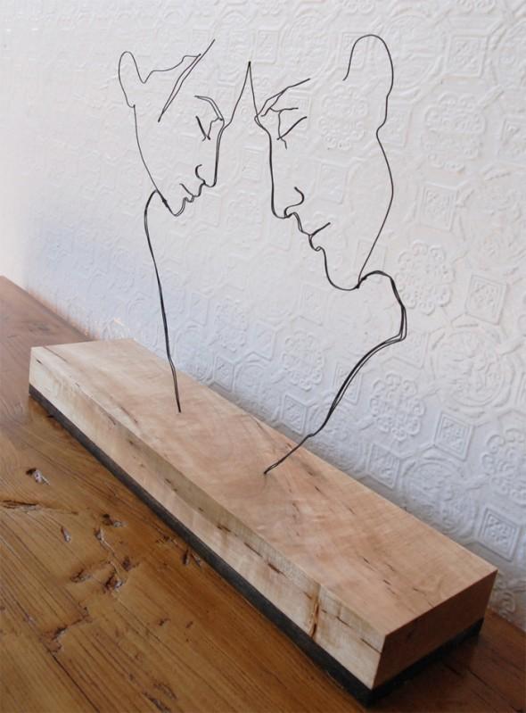 Скульптуры из проволоки Гэвина Ворта. Изображение № 2.