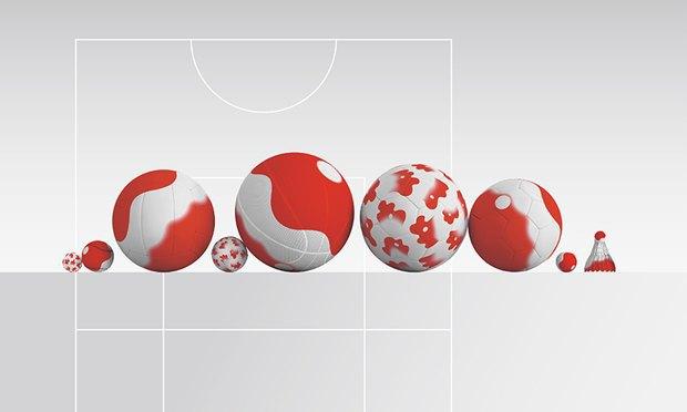 Кения Хара предложил логотип и айдентику для Олимпиады в Токио. Изображение № 12.