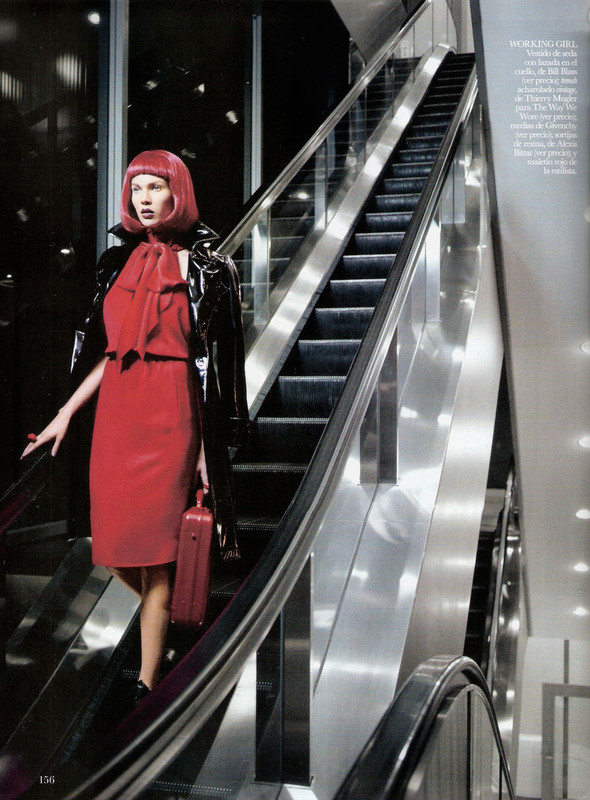 Съёмка: Бритт Марен для испанского Vogue. Изображение № 2.