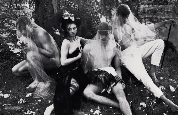 Стоп-кадр: Новые съемки Love, Russh, Vogue и V. Изображение № 21.