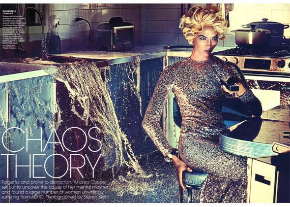 Карли Клосс для американского Vogue. Изображение № 145.