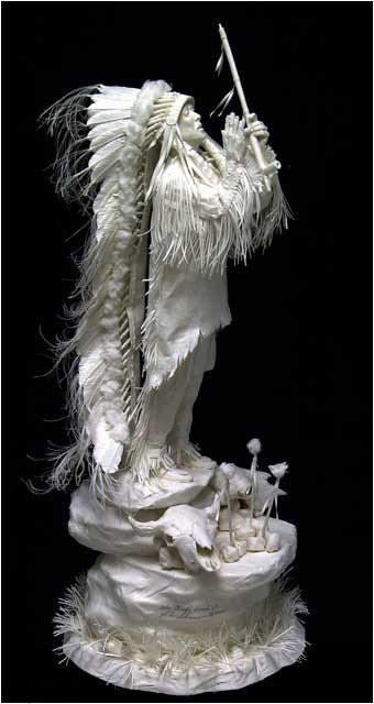 Бумажные скульптуры. Изображение № 36.