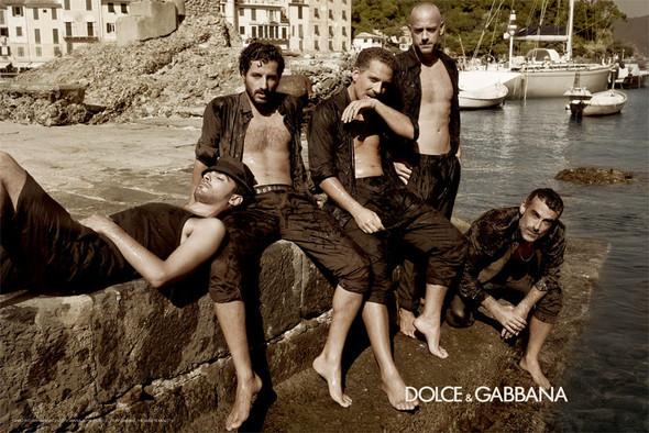 Кампания: Dolce & Gabbana SS 2012 Men. Изображение № 6.