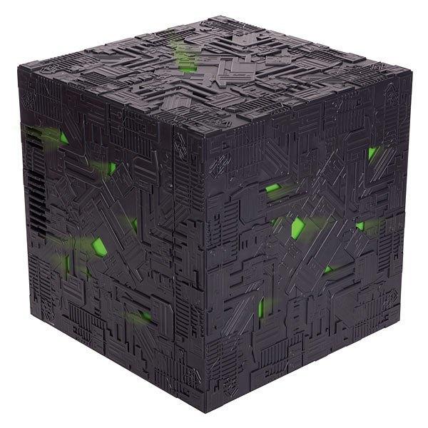 На ThinkGeek появился холодильник в виде куба боргов из «Звёздного пути» . Изображение № 3.
