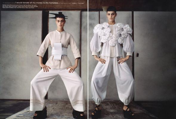 Съёмки: Elle, i-D и Vogue. Изображение № 8.