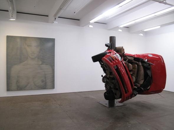Скульптуры из разбитых машин Dirk Skreber. Изображение № 6.