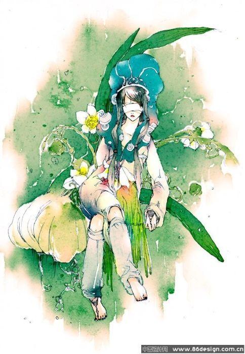 Китайская иллюстрация. Изображение № 6.