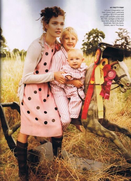 Счастливая мамочка-Наталья Водянова. Изображение № 1.