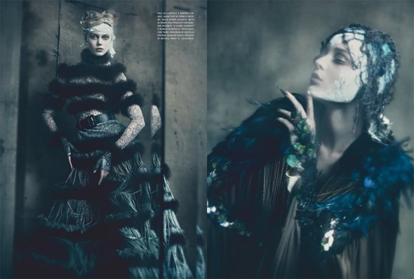 Съемка: Фрида Густавссон, Жак Ягачак и Кристина Салинович для Vogue. Изображение № 1.