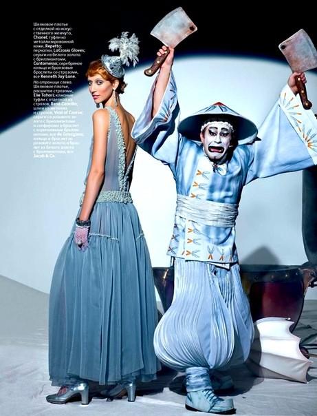 Алана Циммер и Кристал Рэн для Vogue Russia. Изображение № 4.