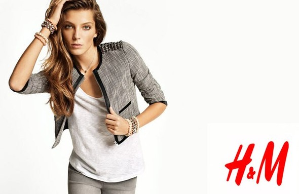 Кампания: Наташа Поли, Изабели Фонтана и Дарья Вербова для H&M. Изображение № 1.