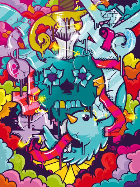 Иллюстрации играффити отiLK. Изображение № 5.