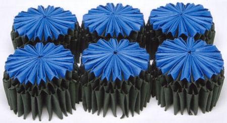 Текстильное оригами. Изображение № 1.