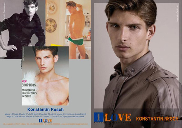 Show Package – Milan Men SS 10: I Love Models Mgmt. Изображение № 29.