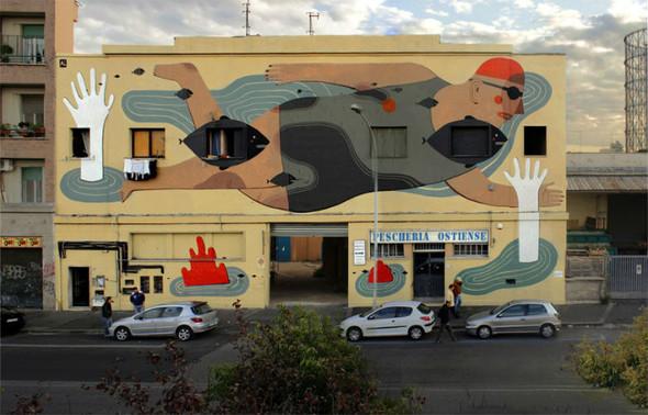 Лучшие стрит-арт проекты 2011 года. Изображение №8.