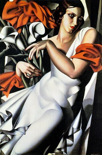 Тамара де Лемпицка – художница и икона Арт Деко. Изображение №17.