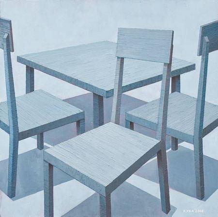 Куаныш Базаргалиев. Столы истулья. Изображение № 1.