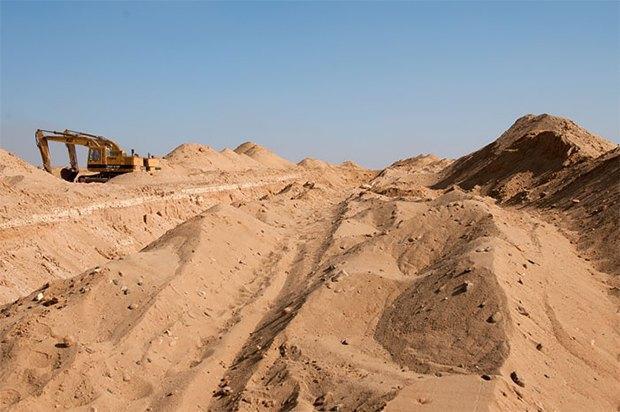 Как выглядит борьба человека и пустыни . Изображение № 4.