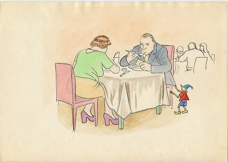 Рисунки втетради. Изображение № 22.