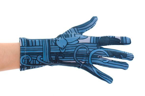 Цветные перчатки молодой марки Ena. Изображение № 7.