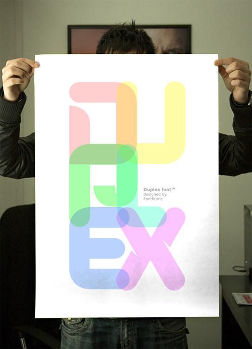 18 шрифтов дизайнерской группы Behance. Изображение № 5.