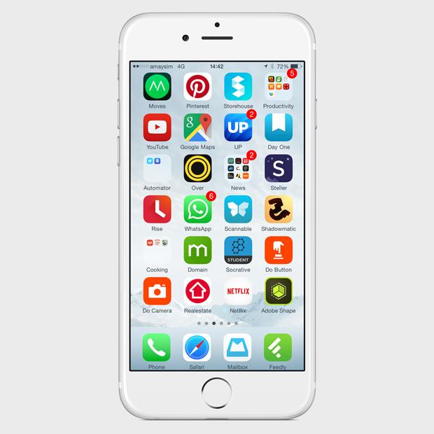 Экран моего смартфона: UX-архитектор Анна Заболотная. Изображение № 3.