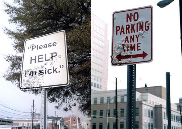Уличная интервенция от Брэда Доуни. Изображение № 12.
