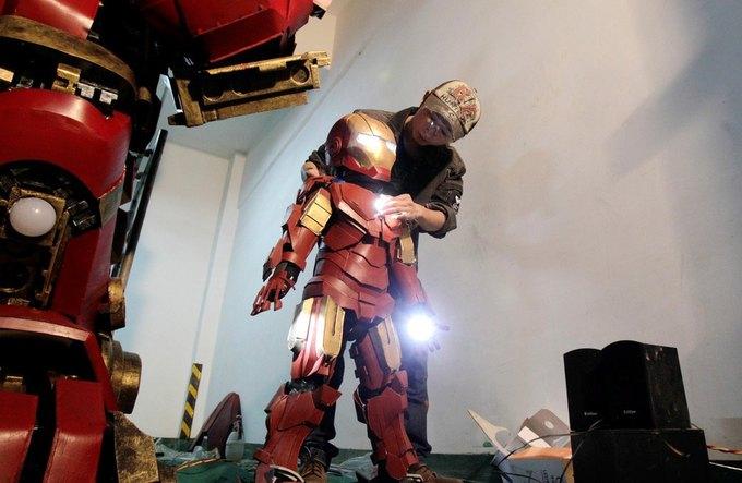 Житель Китая собрал доспехи Железного человека в гараже . Изображение № 3.