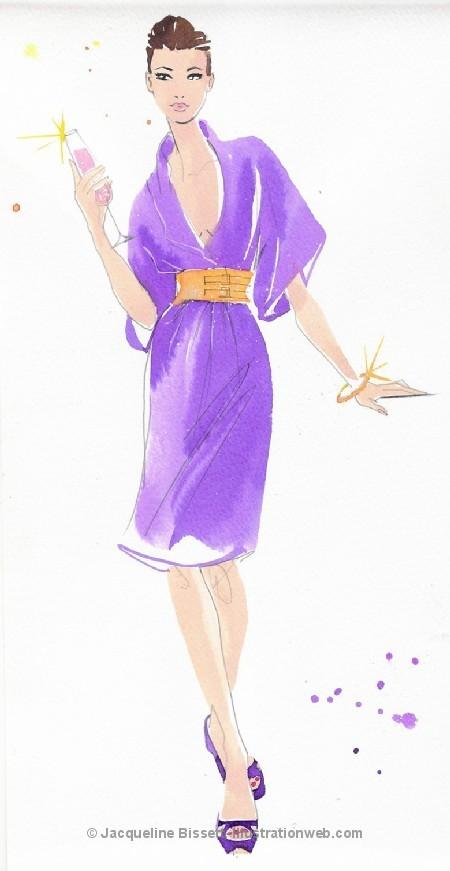 Иллюстратор Жаклин Биссет. Изображение № 38.