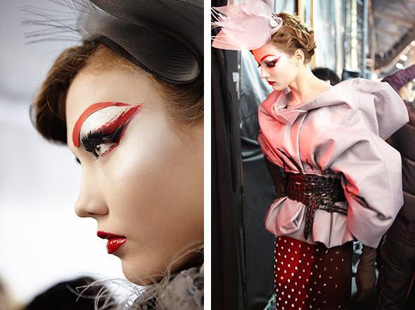 Изображение 5. Репортаж с бэкстейджа показа Dior Haute Couture SS 2011.. Изображение № 13.