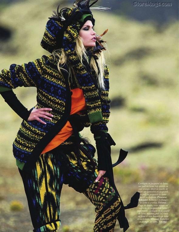 Съёмка: Наташа Поли для французского Vogue. Изображение № 8.