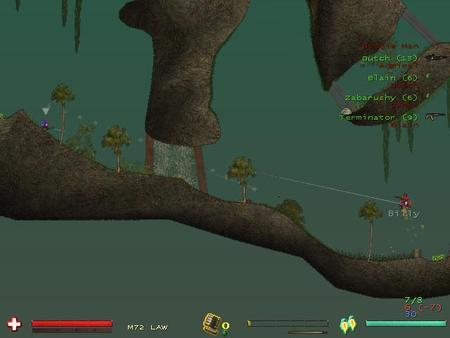 Soldat2D- Смесь Quake, CSи Worms2D. Изображение № 2.