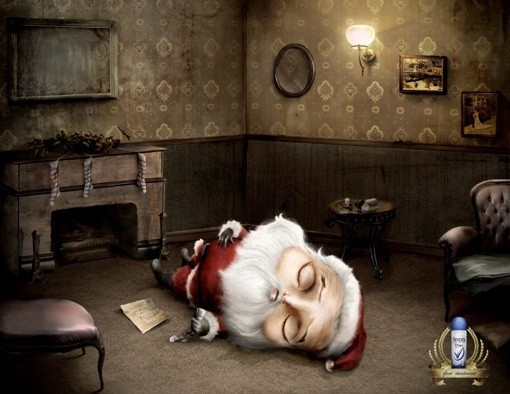 69 рождественских рекламных плакатов. Изображение № 57.