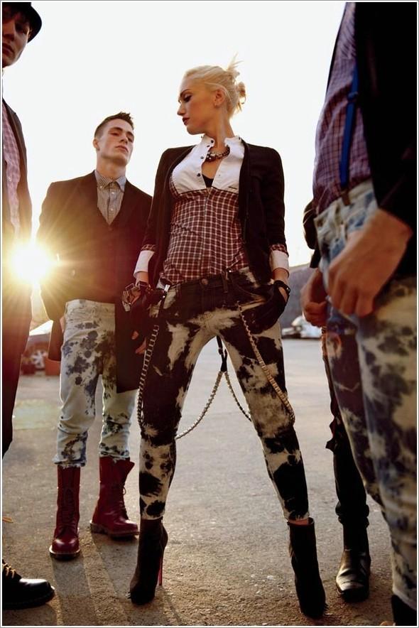 Gwen Stefani, ELLE USJuly 2009. Изображение № 4.