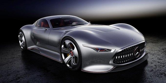 Mercedes-Benz разработала концепт спорткара для новой части Gran Turismo. Изображение № 14.