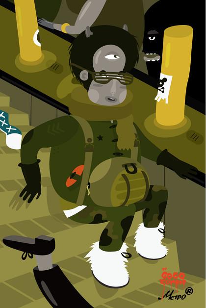 Гоу Гоу Зомби! - Иллюстратор из Санкт-Петербурга. Изображение № 4.