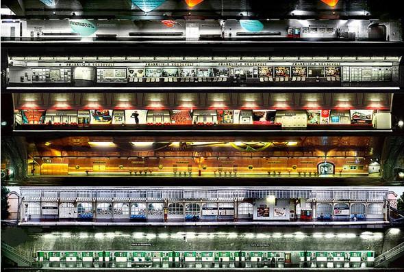 Метрополис: 9 альбомов о подземке в мегаполисах. Изображение № 160.
