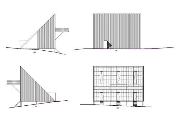 Maison triangle. Изображение № 5.
