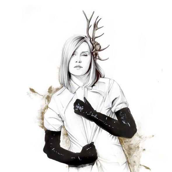 Изображение 35. Акварельные иллюстрации Caroline Andrieu.. Изображение № 35.