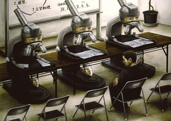 Творчество японского сюрреалиста Tetsuya Ishida. Изображение № 5.