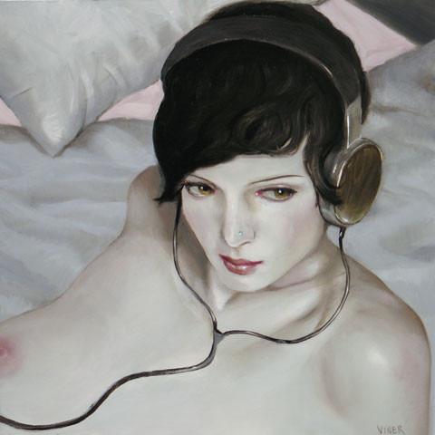 Jonathan Viner – портреты красавиц внаушниках. Изображение № 5.