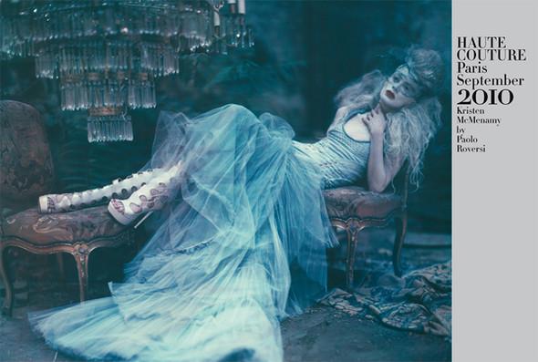 Архивная съёмка: Кристен МакМенами для Vogue Italia, сентябрь 2010. Изображение № 17.