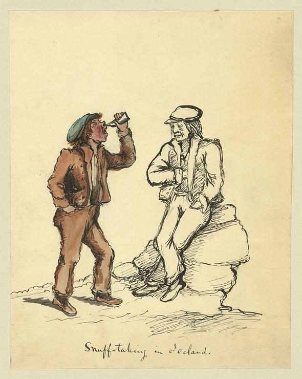 Исландия в середине XIX века: путевые рисунки американского дипломата. Изображение № 18.
