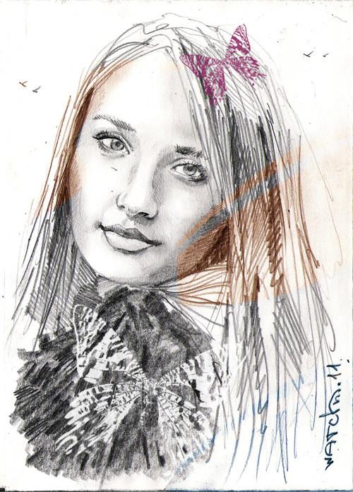 Sketch portraits. Изображение № 7.